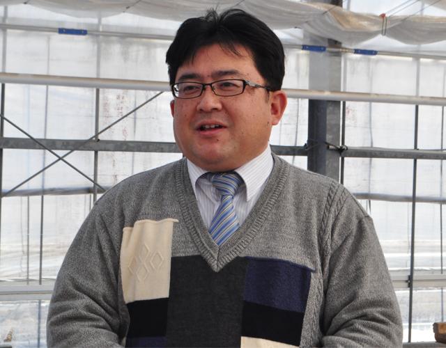常田孝一郎管理部長